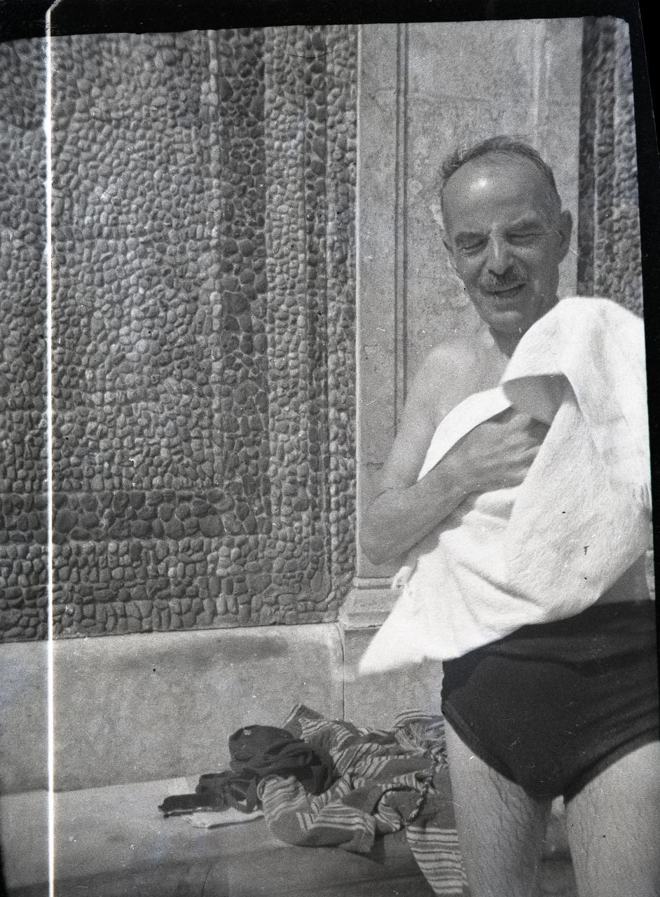 Fotó: Pusztai Sándor: Ismeretlen fürdővendég, 104 © Pusztai Sándor örökösei - FSZEK Budapest Gyűjtemény