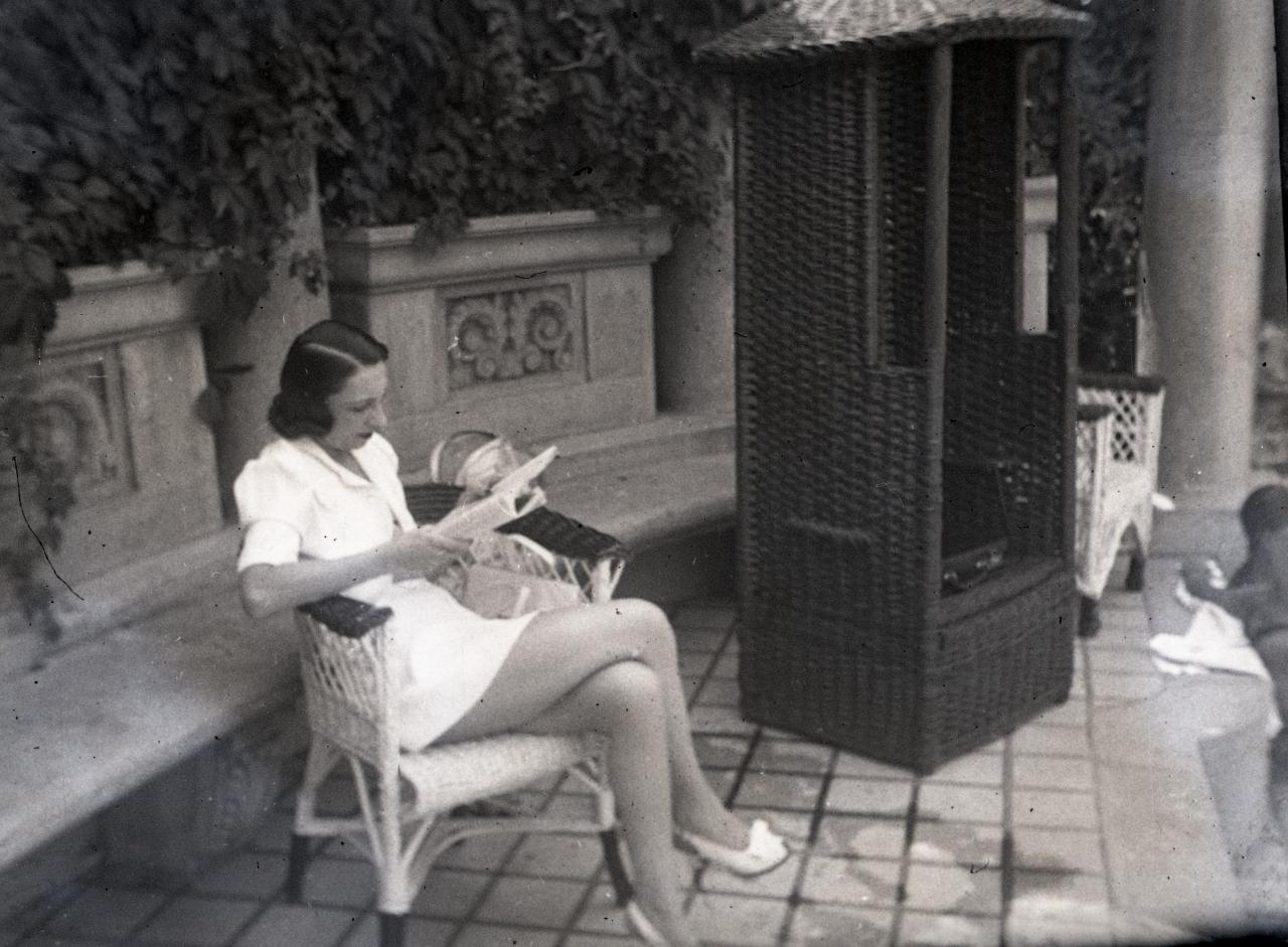 Fotó: Pusztai Sándor: Ismeretlen fürdővendég, 362 © Pusztai Sándor örökösei - FSZEK Budapest Gyűjtemény
