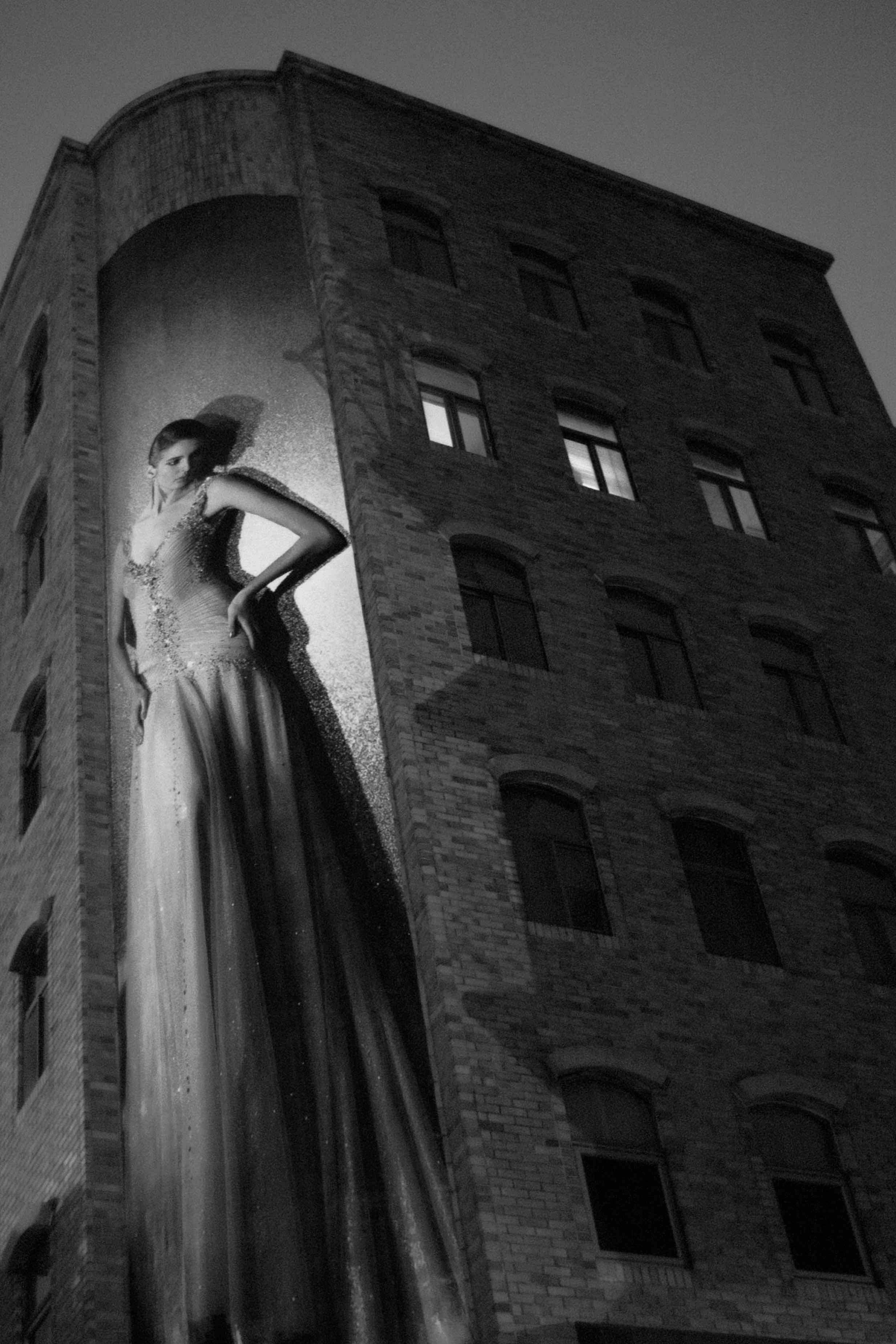 Fotó: Bartis Attila: Óriásplakát éjjel, Tajpej, 2014