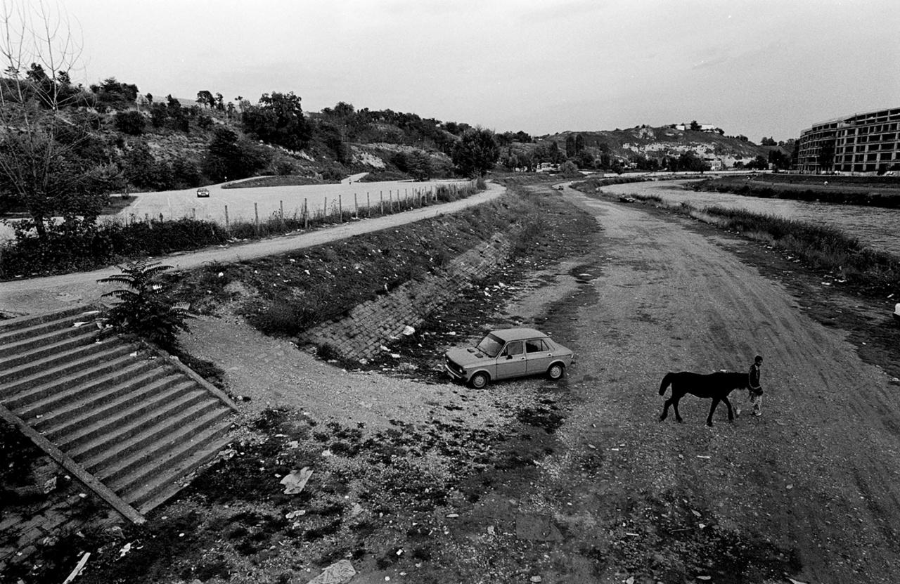 Fotó: Molnár Zoltán: Kiapadt folyó Észak-Macedóniában.