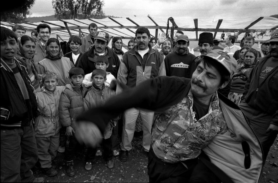 Fotó: Molnár Zoltán: Körösfeketetó, Erdély 2003.