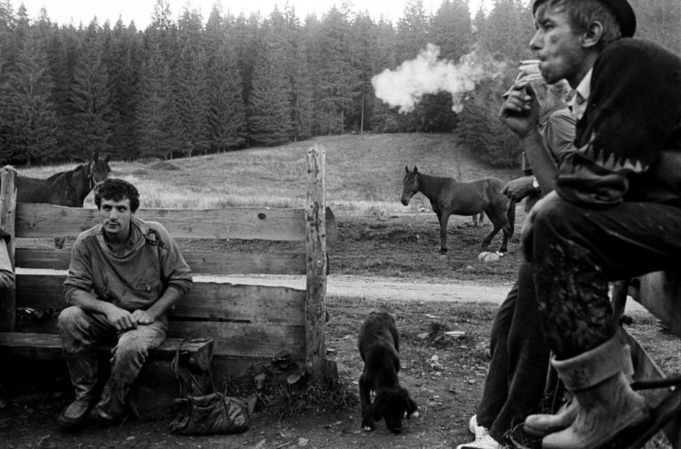 Fotó: Molnár Zoltán: Kommandó / Commandau, Erdély 2001