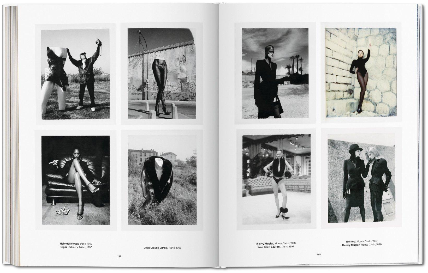 Helmut Newton. Polaroids.<br />taschen.com<br />A fotóalbum megrendelhető személyesen, telefonon vagy a bookshop@maimano.hu e-mail címen.