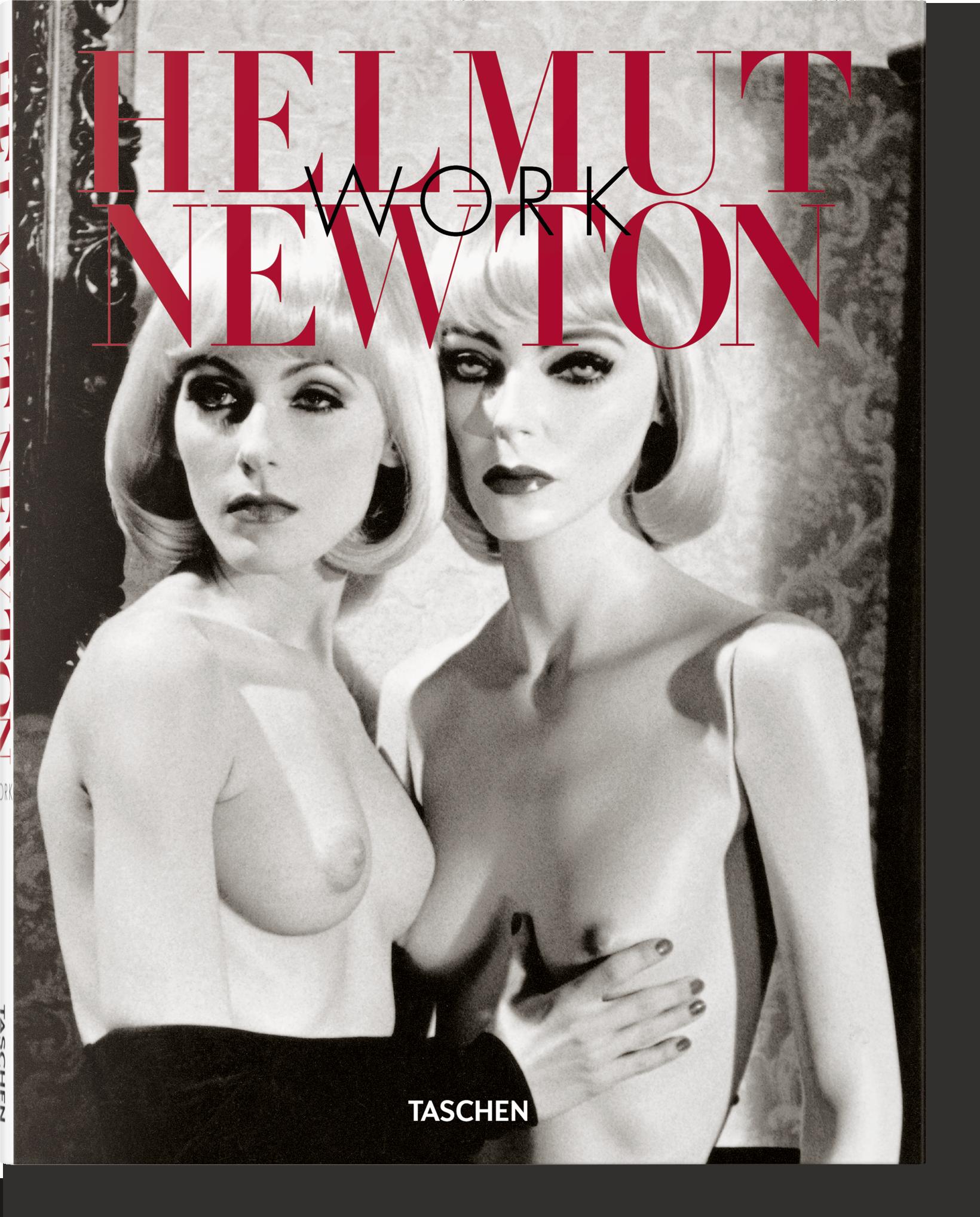 Helmut Newton. Work<br />taschen.com<br />A fotóalbum megrendelhető személyesen, telefonon vagy a bookshop@maimano.hu e-mail címen.