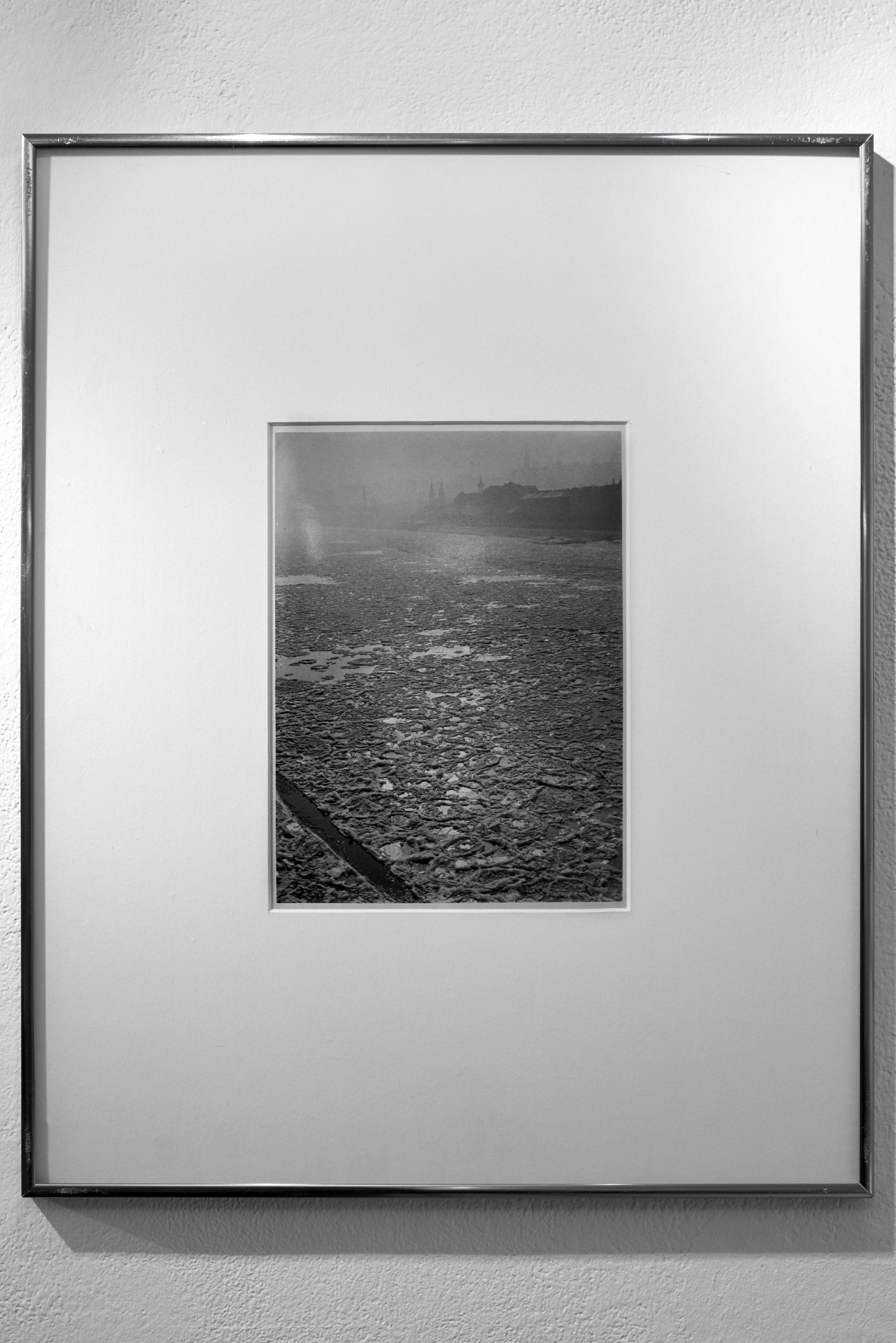 Hevesy Iván: A zajló Duna, Budapest, 1932. k. / Icy Danube river, Budapest, c. 1932. <br />Fotó: Kiss Imre