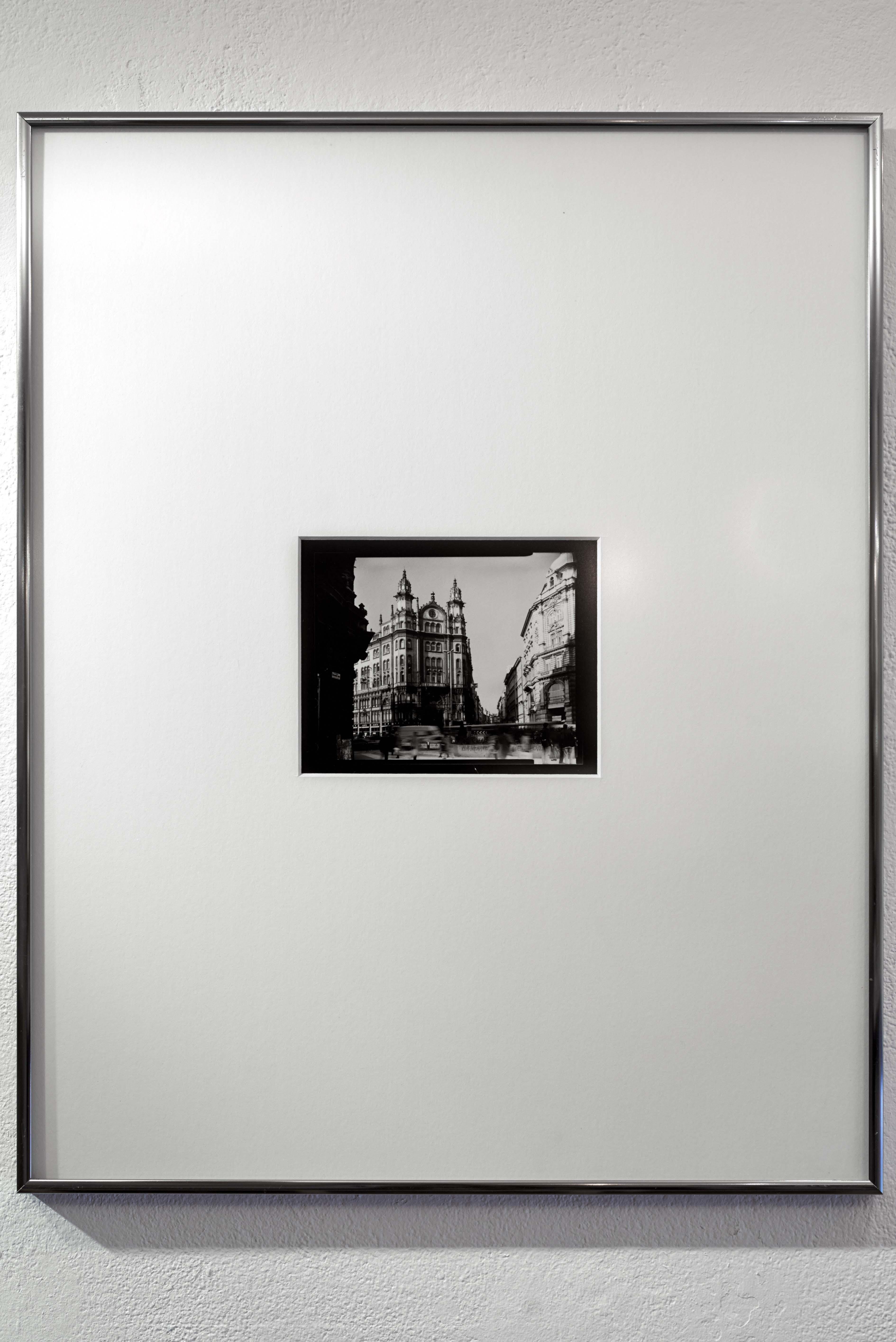 David Sutherland: Párisi Udvar, Budapest 2001. <br />Fotó: Kiss Imre