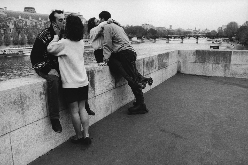 Fotó: Peter Turnley: Quai de la Seine, 1995 © Peter Turnley