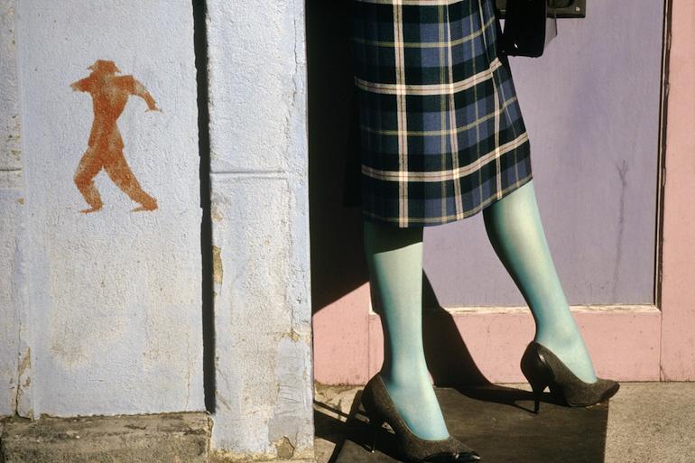 Fotó: Fred Herzog: Go, 1985 © Equinox Gallery