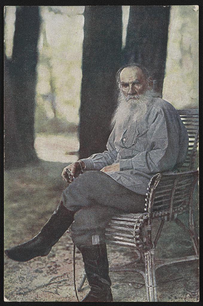 Fotó: Szergej Prokugyin-Gorszkij: Jasznaja Poljana, Oroszország, 1908. május © Prokugyin-Gorszkij gyűjtemény, Amerikai Kongresszusi Könyvtár<br />