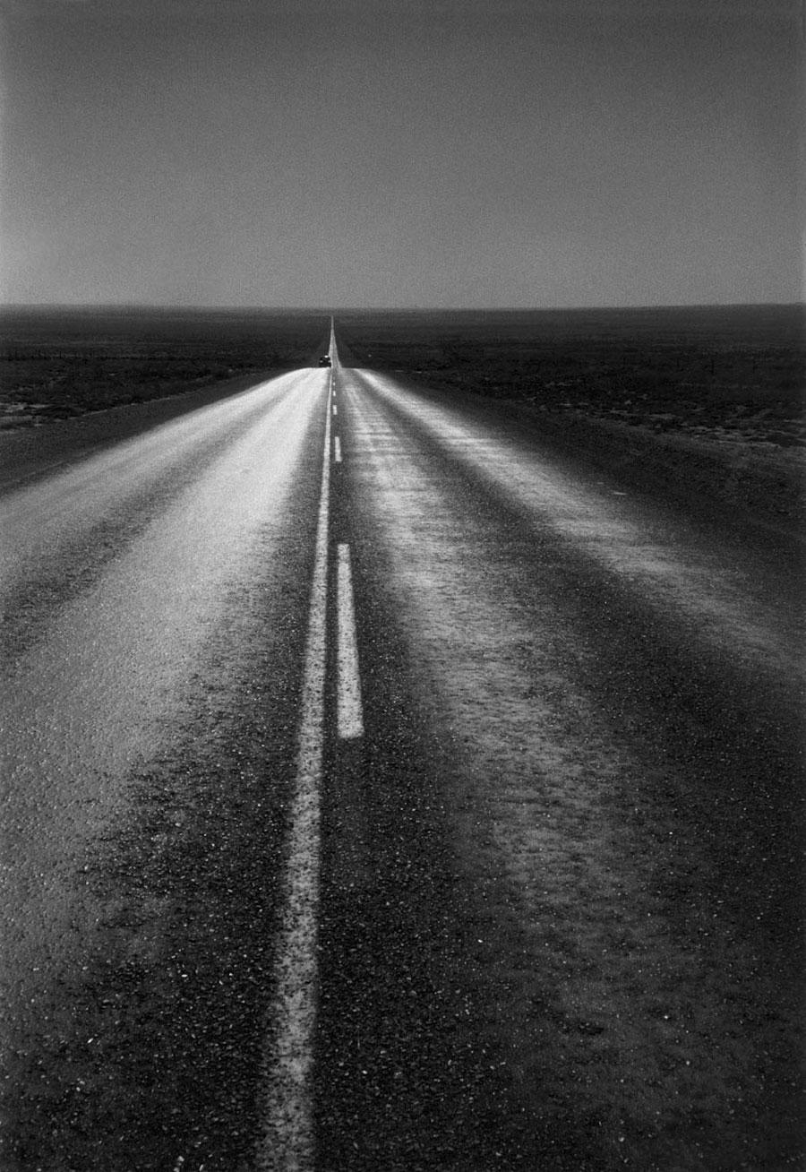 Robert Frank (American, born Switzerland, 1924)<br />Americans 36<br />U.S. 285, New Mexico<br />1955<br />Gelatin silver print<br />Image: 33.7 x 21.9 cm (13 1/4 x 8 5/8 in.)<br />Mark Kelman, New York<br />Photograph © Robert Frank, from The Americans