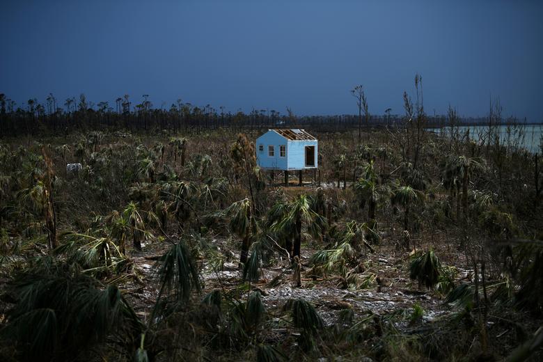Fotó: Loren Elliott: A Dorian hurrikán pusztítása, a Marsh Harbour, Great Abaco, Bahama-szigetek, 2019. szeptember 8. © Reuters/Loren Elliott