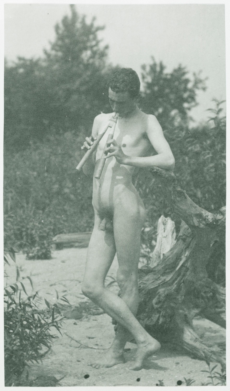 Fotó: Thomas Eakins: J. Laurie Wallace ('Arcadia' tanulmány), 1883 körül, platinnyomat <br />Hirshhorn Museum and Sculpture Garden, Smithsonian Institution, Washington, DC, Gift of Joseph H. Hirshhorn, 1966