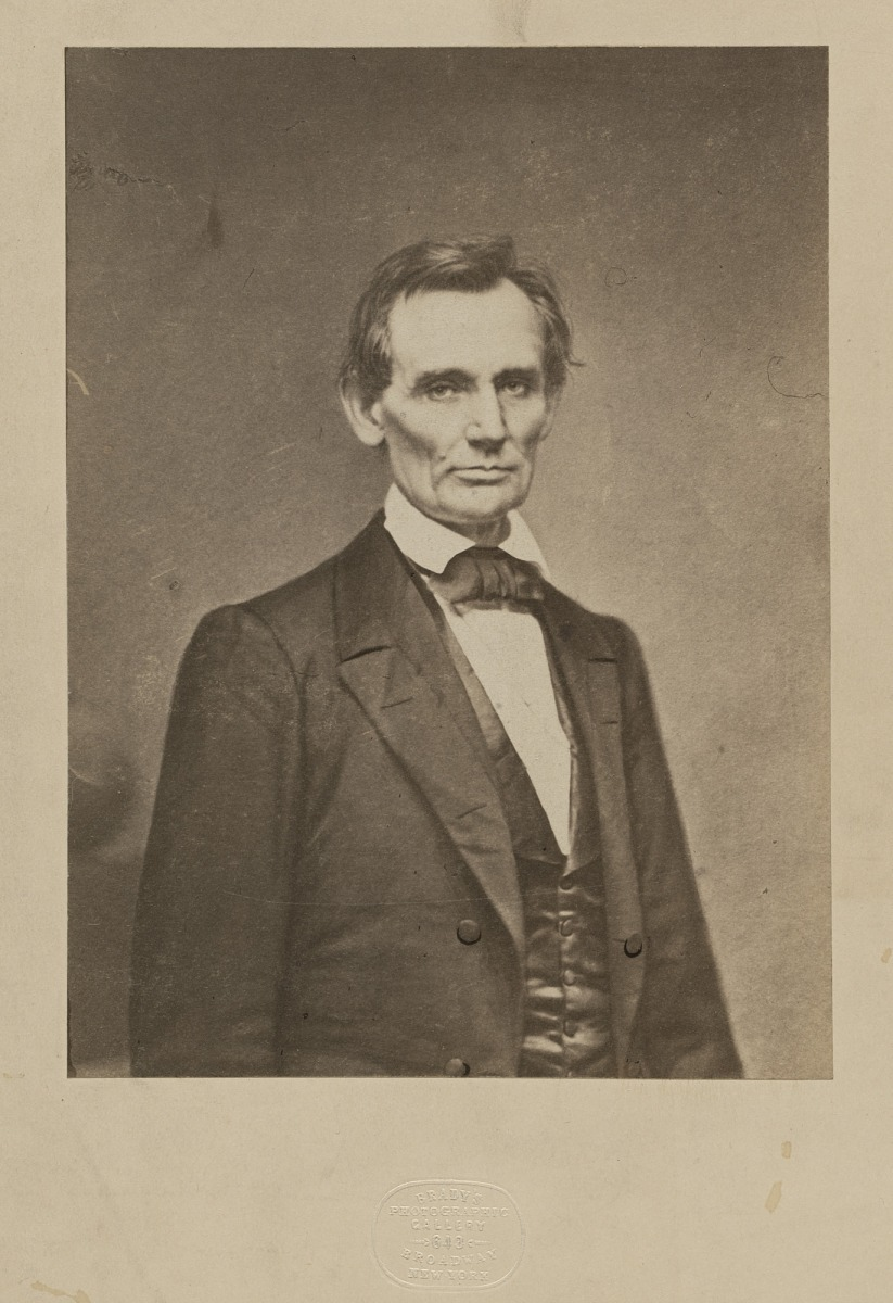 Fotó: Mathew B. Brady: Abraham Lincoln, 1860<br />National Portrait Gallery, Smithsonian Institution; Alan and Lois Fern Acquisition Fund
