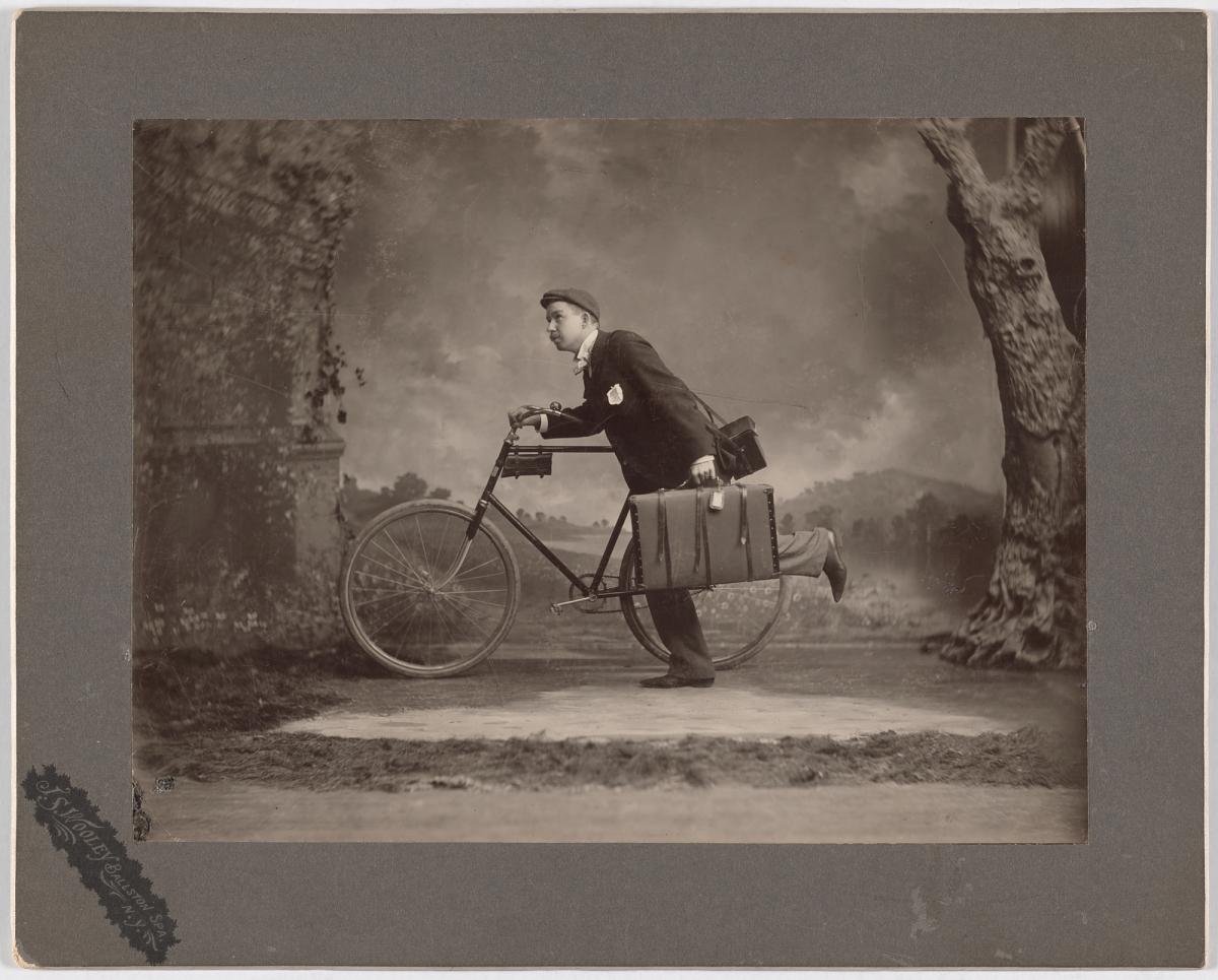 Fotó: Jesse S. Wooley: Önarckép, 1900, zselatinos ezüst<br />National Portrait Gallery, Smithsonian Institution; gift of Larry J. West