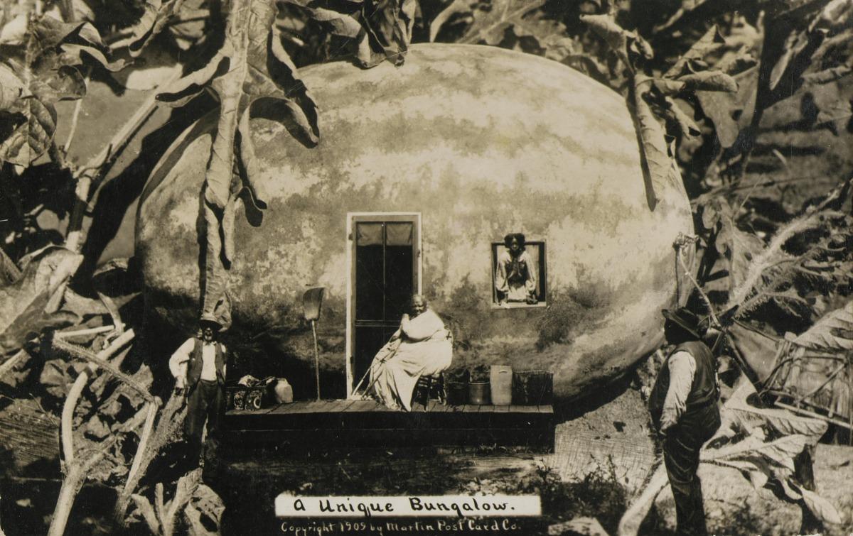 Fotó: W. H. Martin: Egyedi lakóház, 1910 körül, zselatinos ezüst<br />Smithsonian American Art Museum, Gift of Charles Isaacs and Carol Nigro