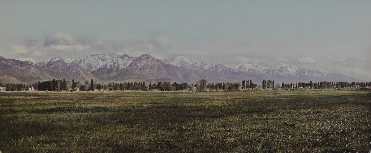 Fotó: Ismeretlen / Detroit Photo Company: The Wasatch Range from the Valley of Jordan, 1900, kromolitográfia<br />Smithsonian American Art Museum, Gift of Mitchell and Nancy Steir
