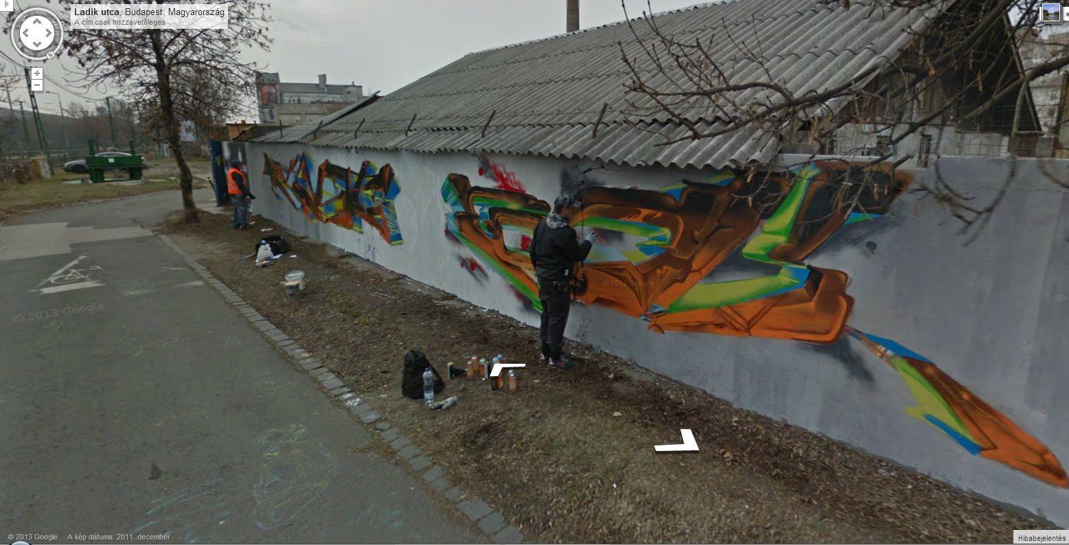 Fotó: Google Street View <br />Magyarország, Budapest, Ladik utca