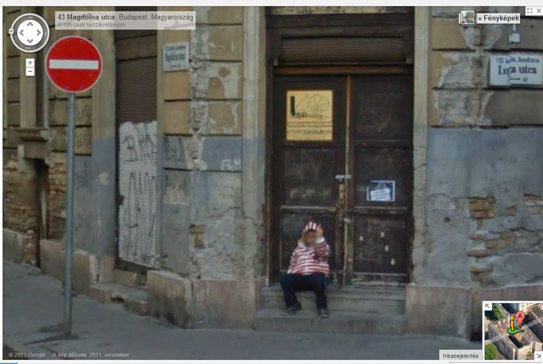 Fotó: Google Street View <br />Magyarország, Budapest, Magdolna / Lujza utca