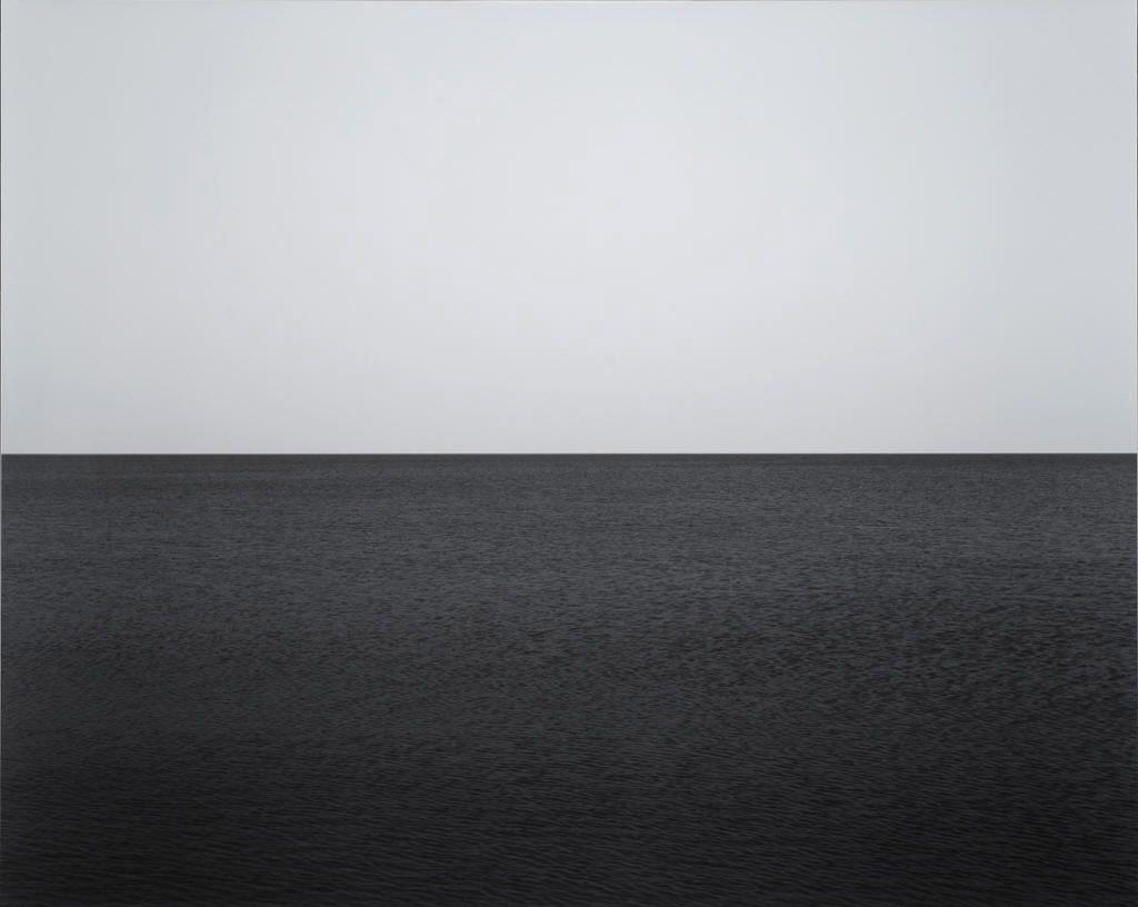 Fotó: Hiroshi Sugimoto: Baltic Sea, near Rügen, 1996 © Fraenkel Gallery/Hiroshi Sugimoto