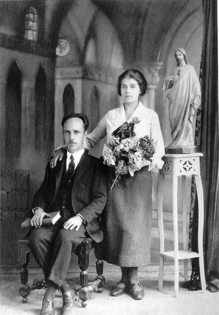 Fotó: Ismeretlen: Tina Modotti és Edward Weston, 'Anniversary', Mexico, 1924