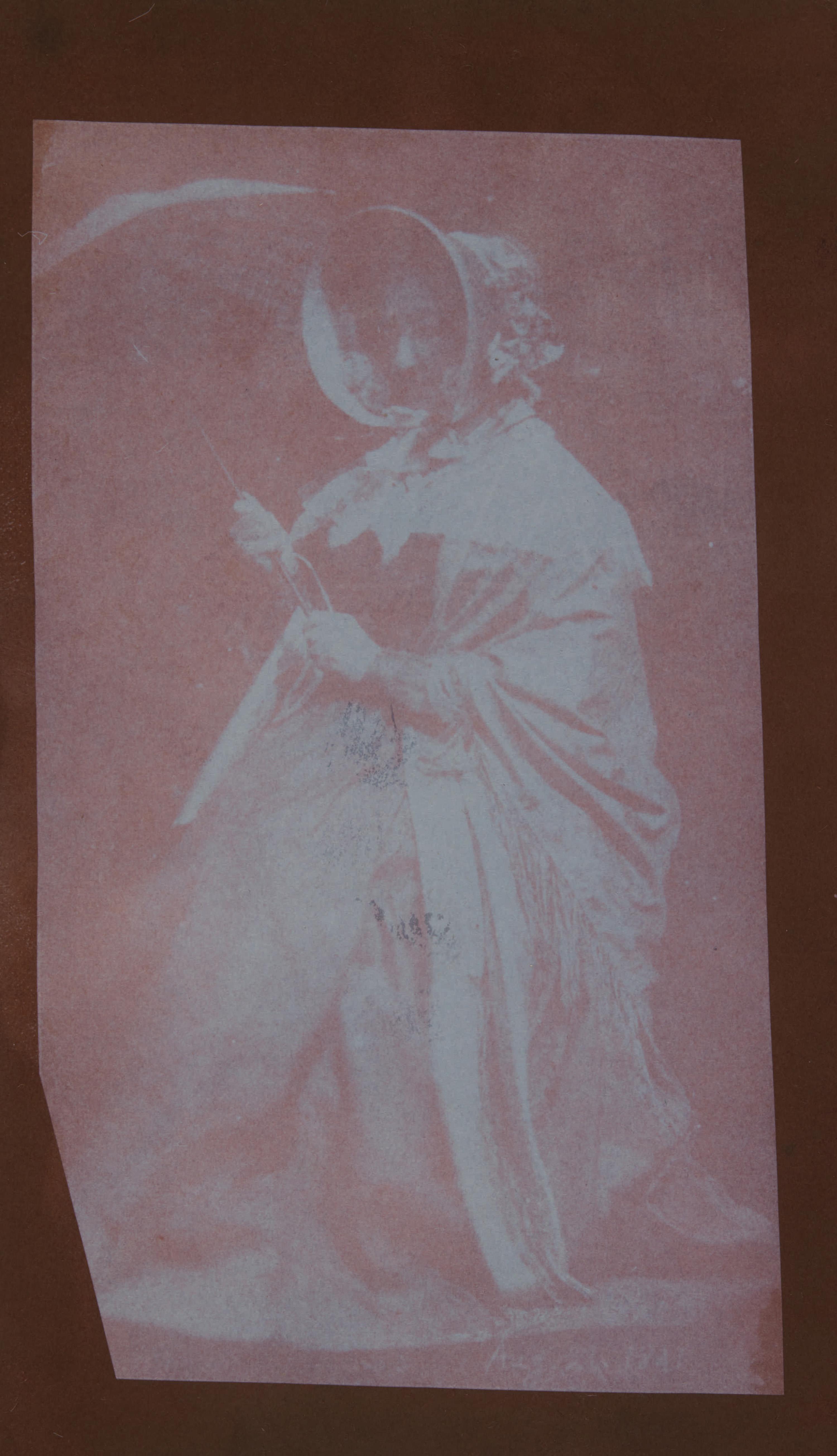 Fotó: William Henry Fox Talbot:<br />Lady Elisabeth Feilding (Talbot's mother) (c. 1841)<br />William Henry Fox Talbot Archive<br />Courtesy of Sotheby's
