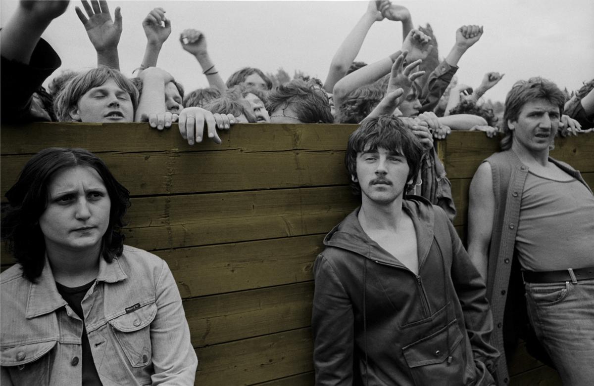 Fotó: Tímár Péter: Élhető szocializmus: Fiatalok és fiatalok (C_366_5) Budapest, 1980 © Tímár Péter
