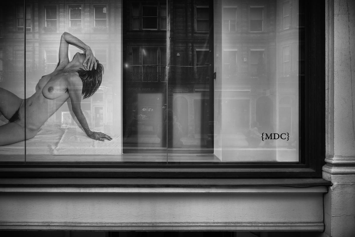 Fotó: Tímár Péter: Elmozdult akt_2536 – London, 2019 © Tímár Péter