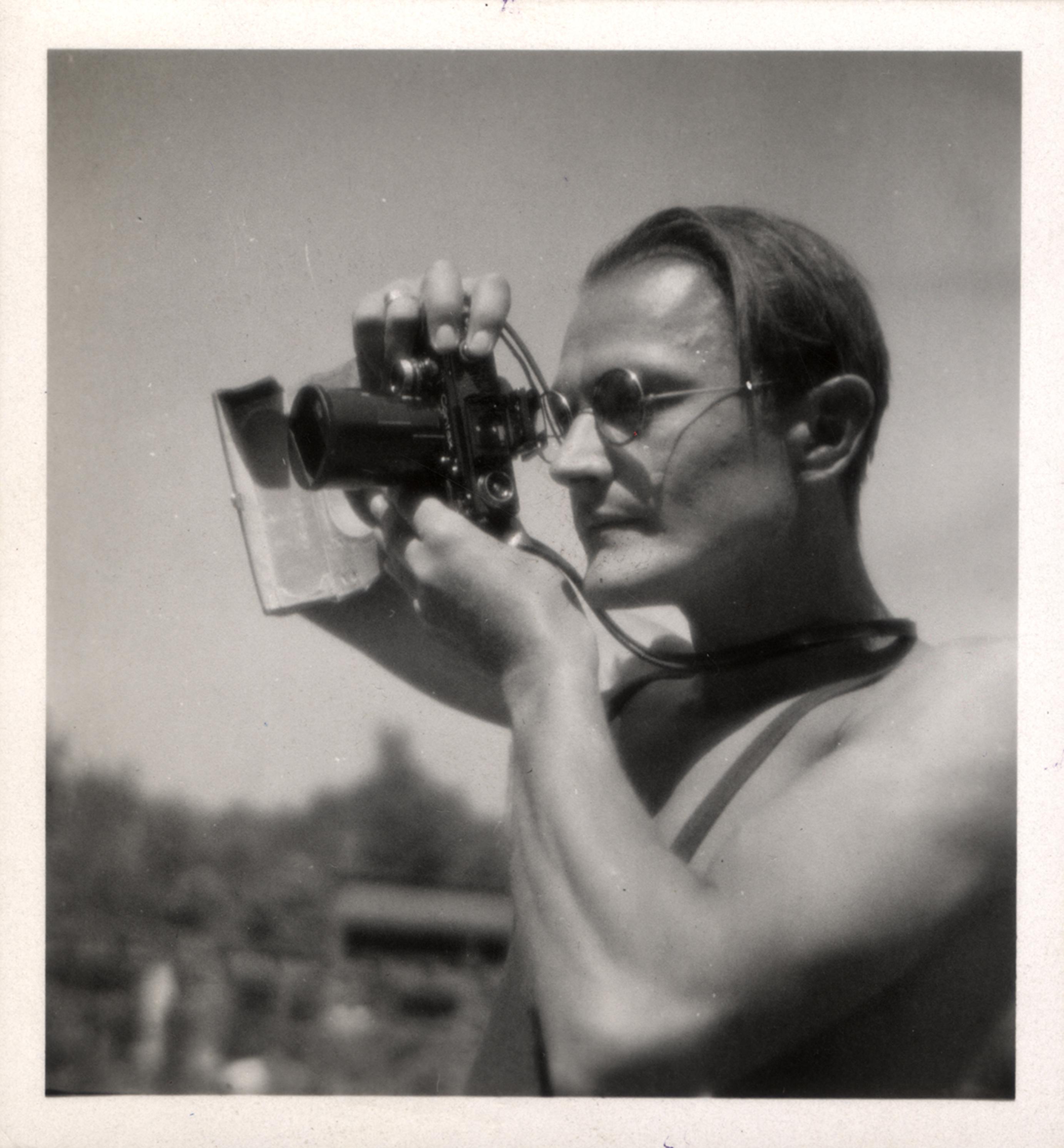 Fotó: Szöllősy Kálmán: Dulovits Jenő arcképe. 1939 © Magyar Fotográfiai Múzeum