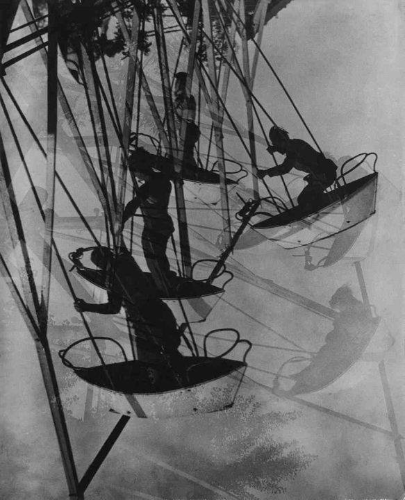 Fotó: Escher Károly: Hajóhinta, 1930 <br />HUNGART © 2020<br />A fotót a Magyar Fotográfiai Múzeum gyűjteményében őrzik.