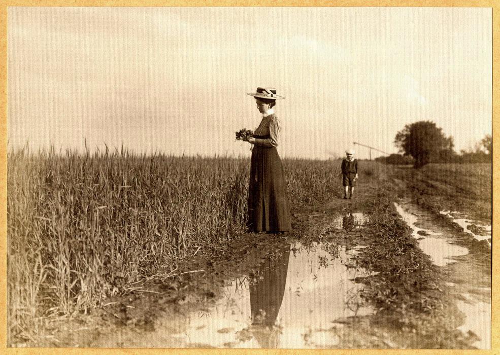 Fotó: Faix Jacques: Eső után, 1908 k. © Faix család tulajdona