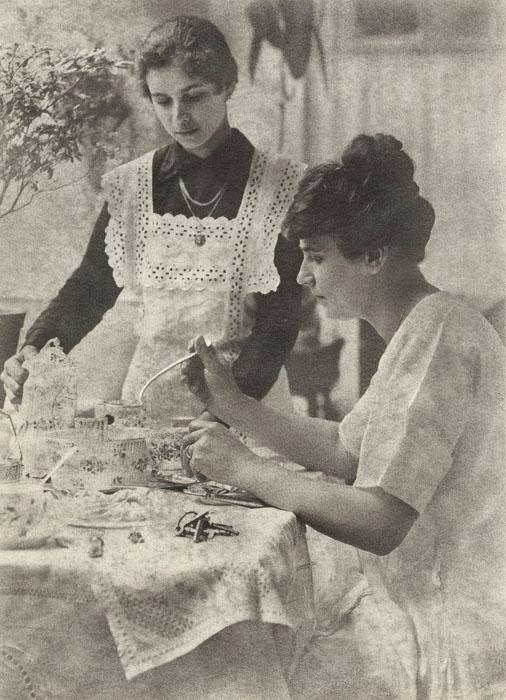 Fotó: Faix Jacques: Reggel, 1908 k. © Magyar Fotográfiai Múzeum