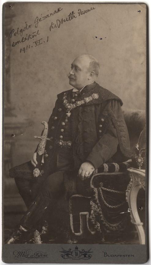 Fotó: Mai Manó: Kossuth Ferenc, 1911 © Magyar Fotográfiai Múzeum