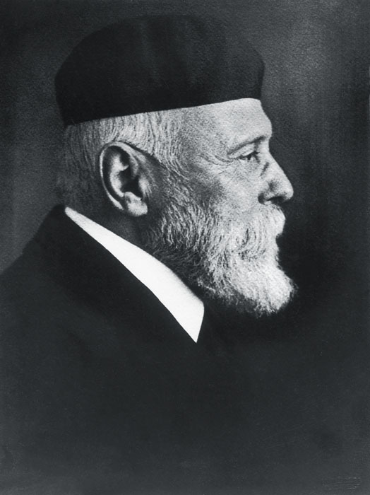 Fotó: Máté Olga: Lechner Ödön. 1910 körül © Petőfi Irodalmi Múzeum
