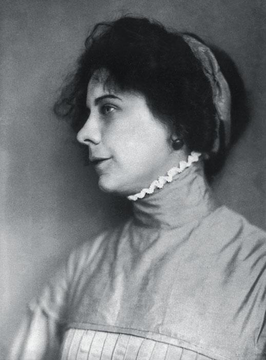 Fotó: Máté Olga: Kaffka Margit. 1914 k. © Petőfi Irodalmi Múzeum