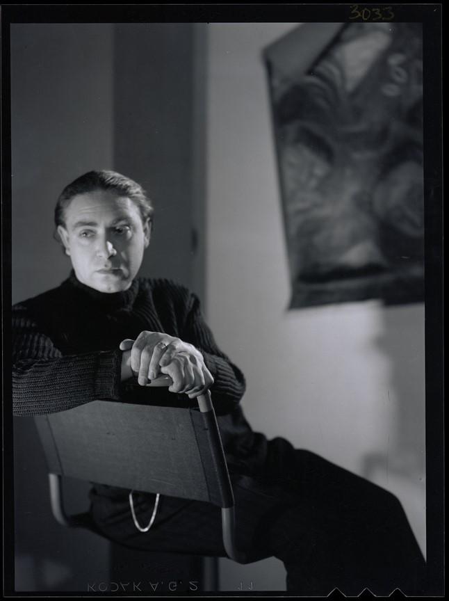 Fotó: Pécsi József: Ámos Imre festőművész, 1940 k. © Magyar Fotográfiai Múzeum