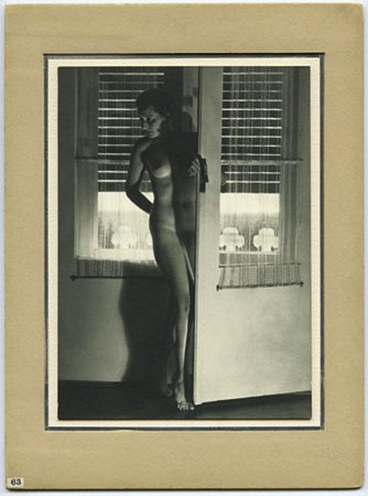 Fotó: Pécsi József: Akt tanulmány, 1930 © Magyar Fotográfiai Múzeum