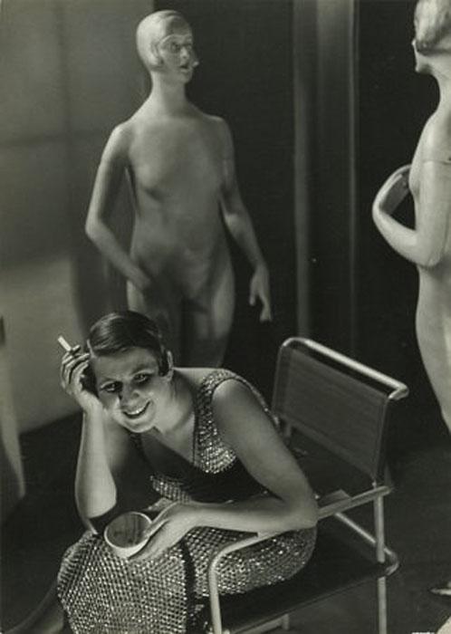 Fotó: Pécsi József: Divat (Pécsi Józsefné), 1936 © Magyar Fotográfiai Múzeum