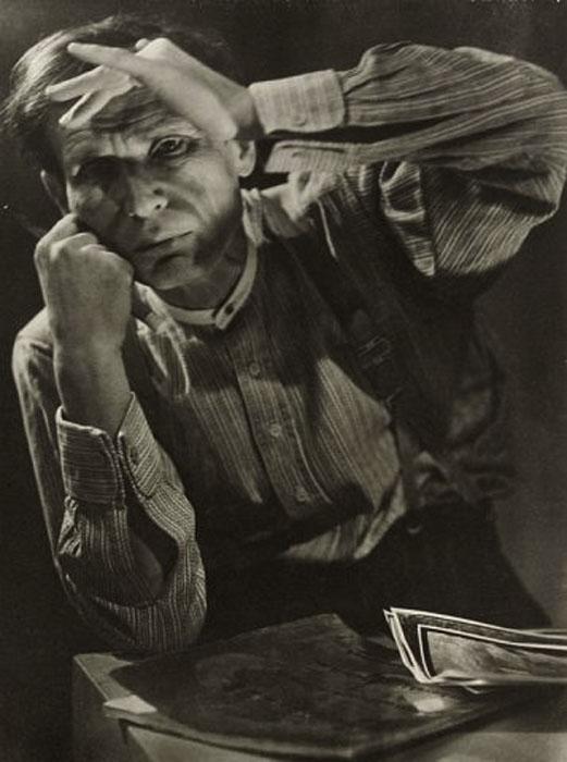 Fotó: Pécsi József: Egry József, 1930 © Magyar Fotográfiai Múzeum