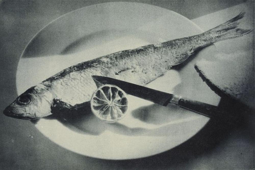 Fotó: Pécsi József: Hal citrommal, 1928 © Magyar Fotográfiai Múzeum