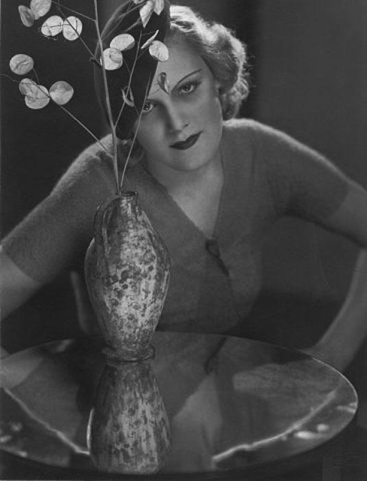 Fotó: Pécsi József: Női portré, 1937 © Magyar Fotográfiai Múzeum