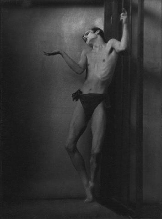Fotó: Pécsi József: Sebastian Droste táncos, 1925 k. © Magyar Fotográfiai Múzeum