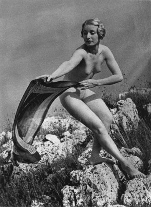 Fotó: Pécsi József: Szél (pozitív), 1930 © Magyar Fotográfiai Múzeum