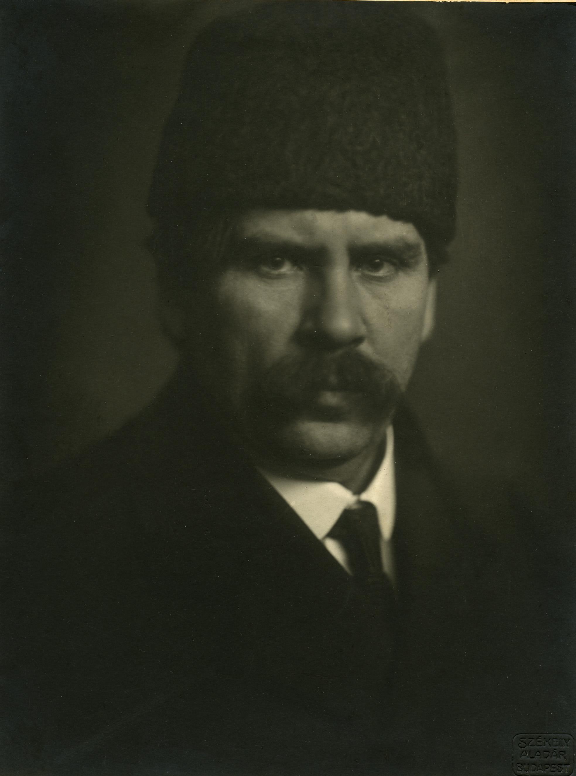 Fotó: Székely Aladár: Móricz Zsigmond, 1919 © Magyar Fotográfiai Múzeum