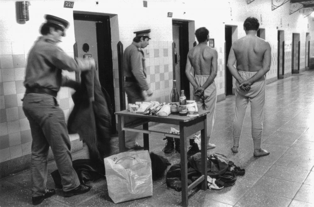 Fotó: Urbán Tamás: Márianosztrai Fegyház és Börtön, zárkasor, 1987 © Fortepan/Urbán Tamás