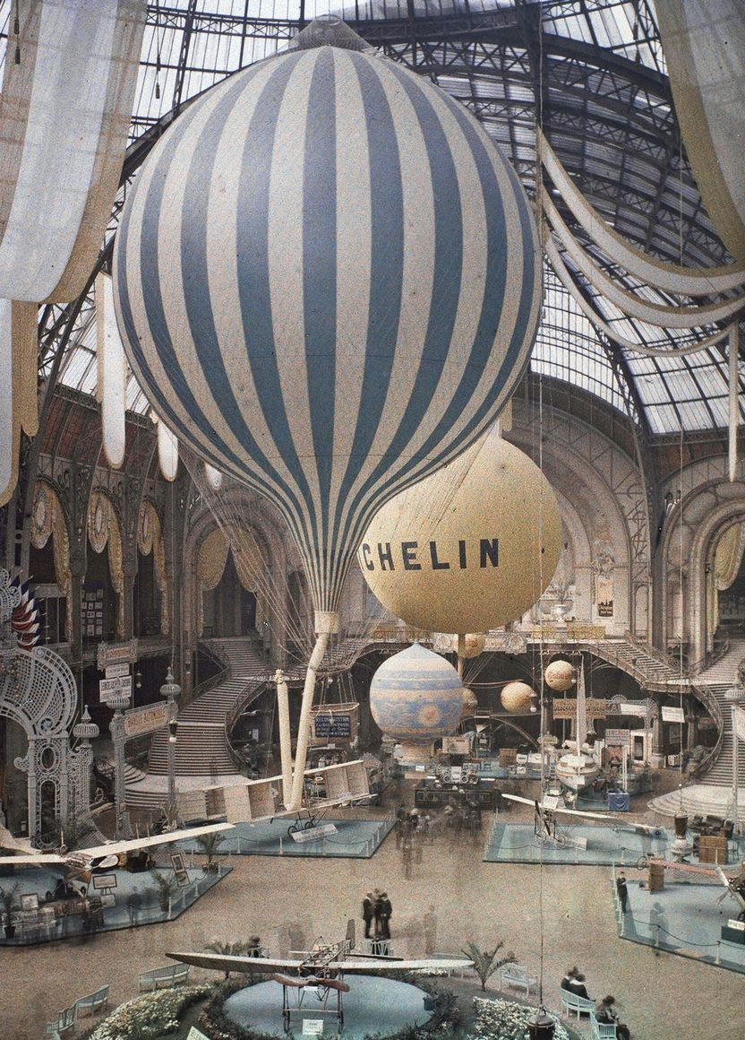 Fotó: Léon Gimpel: Grand Palais, Paris, 1909 © Wikimedia Commons