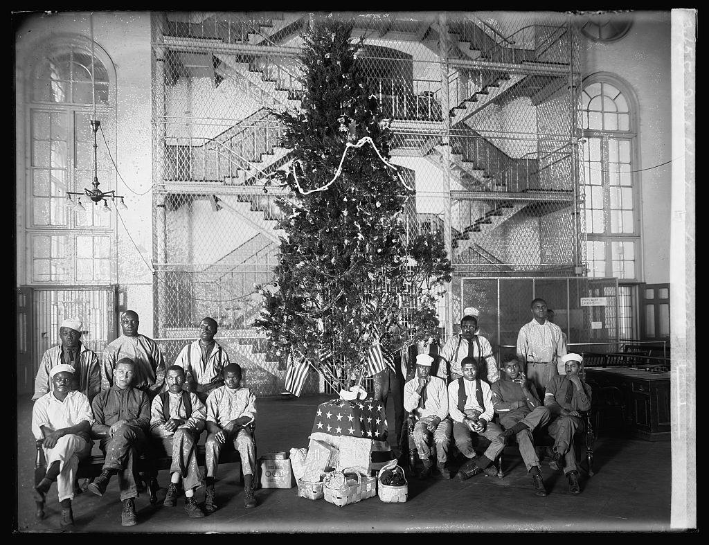 Fotó: Karácsony a börtönben, 1919 © National Photo Company Collection (Library of Congress)
