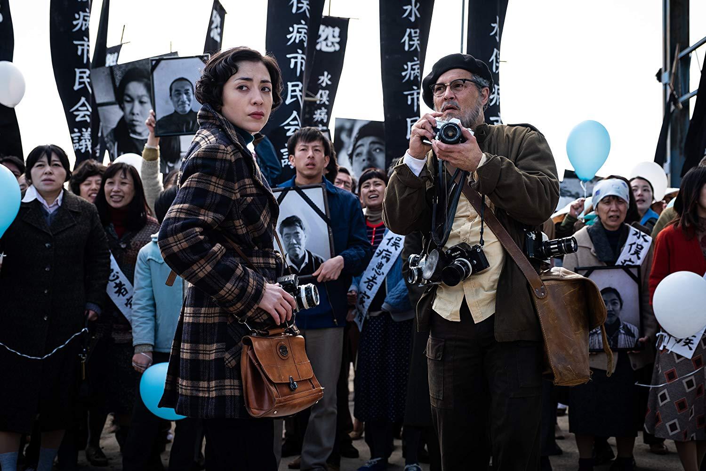 Fotó: Johnny Depp a Minamata című filmben (forrás: imdb.com)