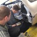 A kipfugó, és az első indítás / Exhaust and first start