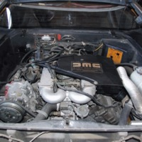 A motor / The engine