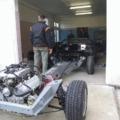 A karosszéria váz 3. / Chassis and fiberglass 3.